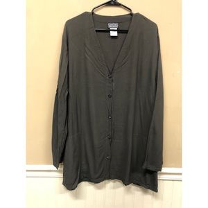 Ghost Made in England Tunic Top Blouse Large